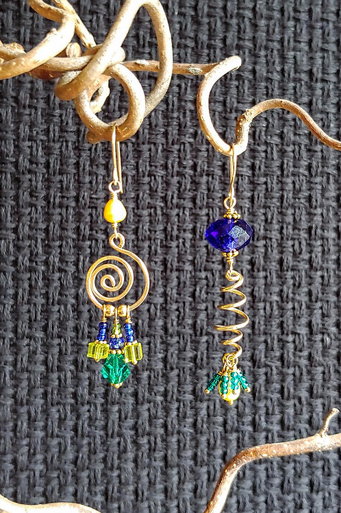 Phantasmagorical Sister Earrings