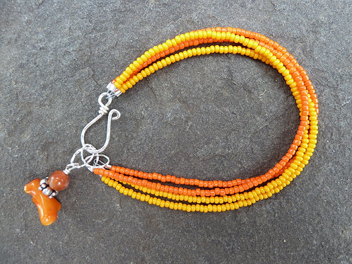 Citrus and Sunshine Bracelet