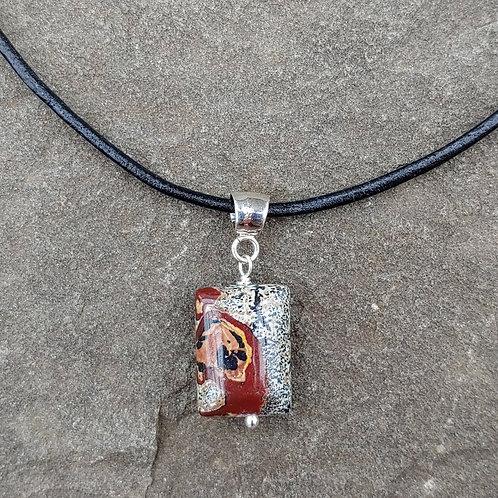 Jasper Rectangle Pendant
