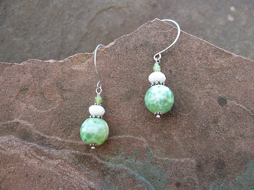 Fresh Greens, Anyone? Earrings