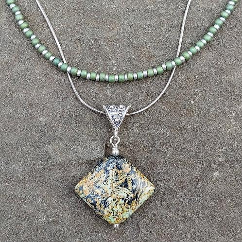 Speckled Jasper Pendant