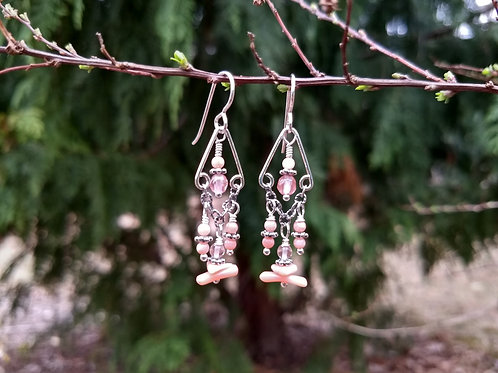 Cherry Chandeliers Earrings