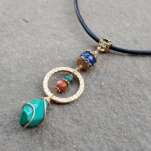 Egyptian Blend with Ring Pendant