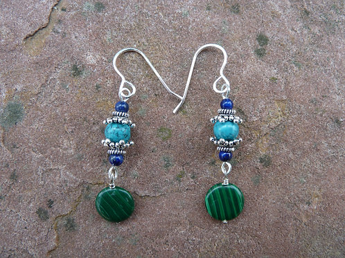 Malachite Mix Earrings