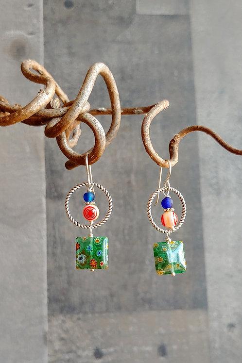 Carnevale Combination Earrings