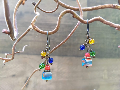 Carnevale Tutti Frutti Earrings