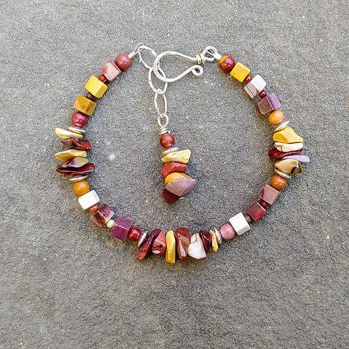 Mookaite Simple Bracelet