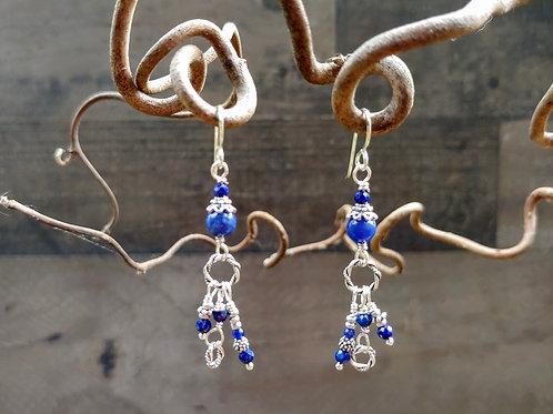 Sweet Blues Earrings