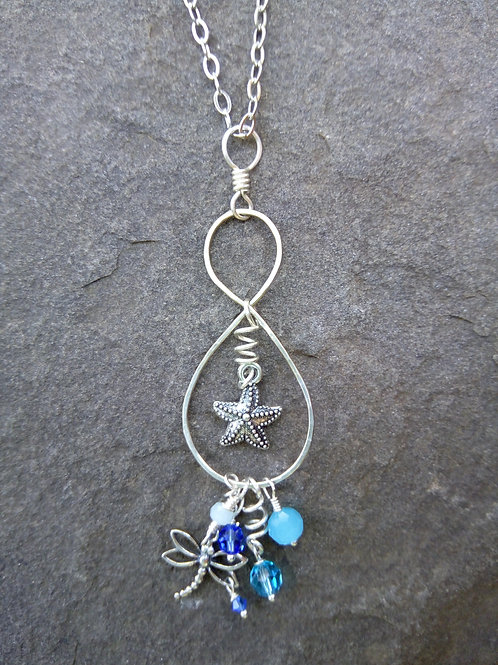 Old Woman and the Sea Pendant