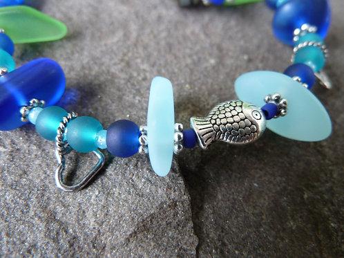 """Sea Glass"" Bracelet"