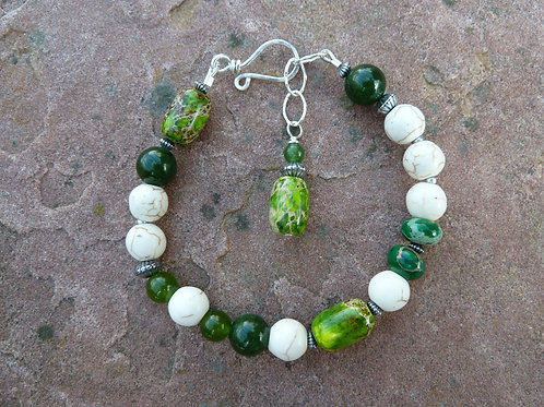 Fresh Green Mix Bracelet