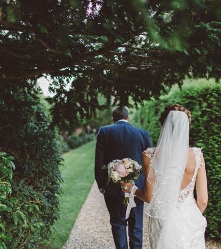 Bride and Groom Essex wedding day