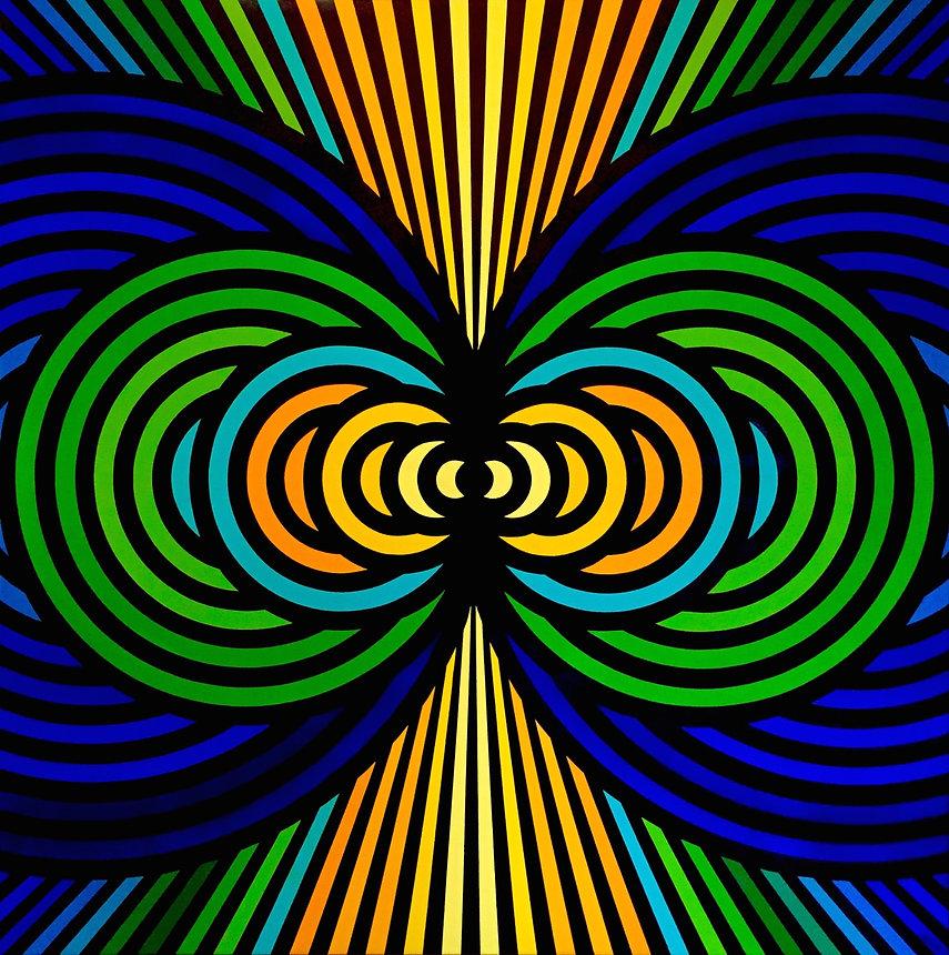 _Origins_, Acrylic on Canvas, 39.37_x39.
