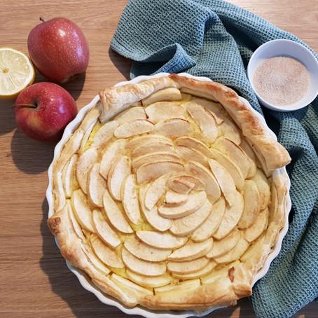 Blätterteig Apfelkuchen