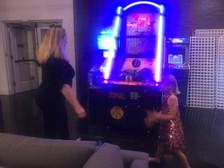 Rachel & Petra Shooting Hoops!