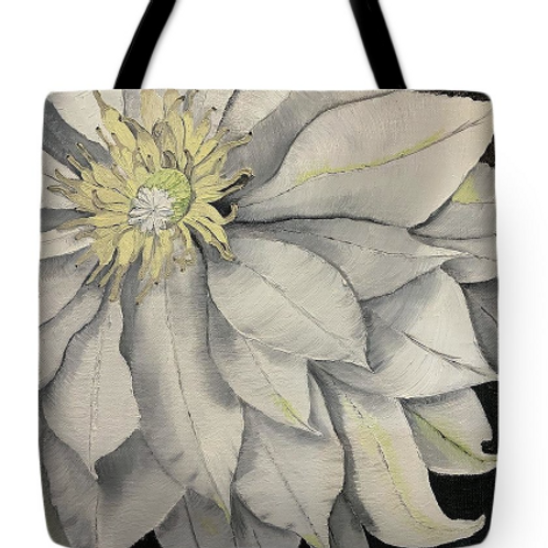 Clematis Tote