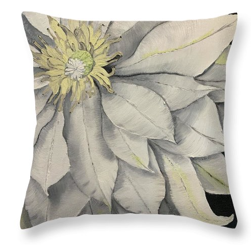 Clematis Pillow.