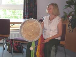 Patricia at workshop 2011