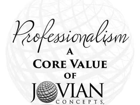 Reflecting on Core Values: Professionalism