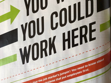 Jovian Concepts is Named a 2019 Best Place to Work by Baltimore Magazine