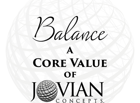 Reflecting on Core Values: Balance