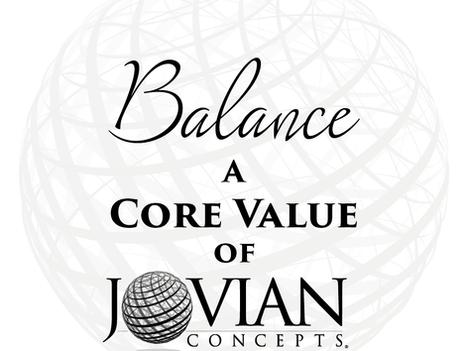 Reflecting on Core Values: Balance