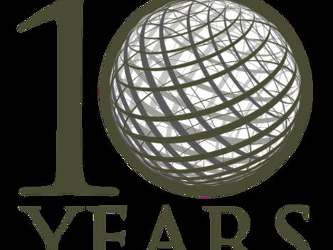 We're Celebrating Ten Years