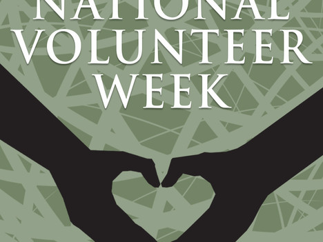 It's National Volunteer Week