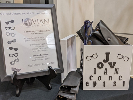 Donate Eyewear This Month at our Hanover Office
