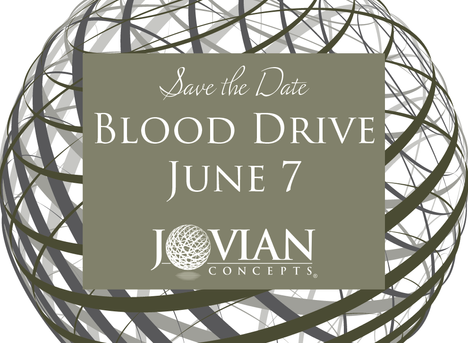 Annual Blood Drive is June 7th