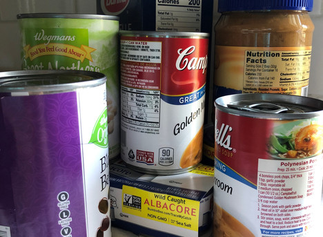 Food Drive Runs Until November 21