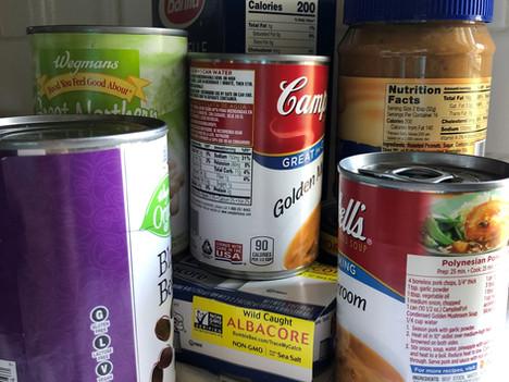 Food Drive Runs Until November 21