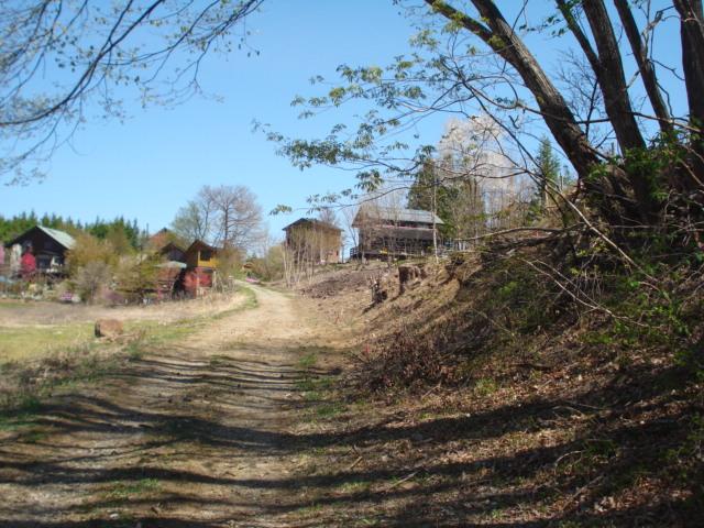 西側道路から北側