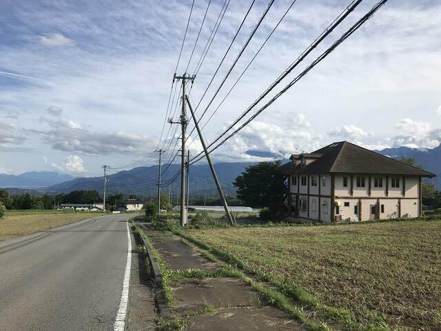 富士見坂沿いの物件