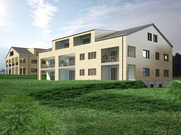 Wohnüberbauung in Uetliburg