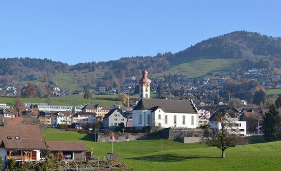 Sicht von Gommiswald