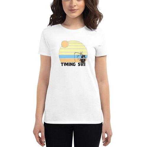 Women's short sleeve t-shirt Summer logo