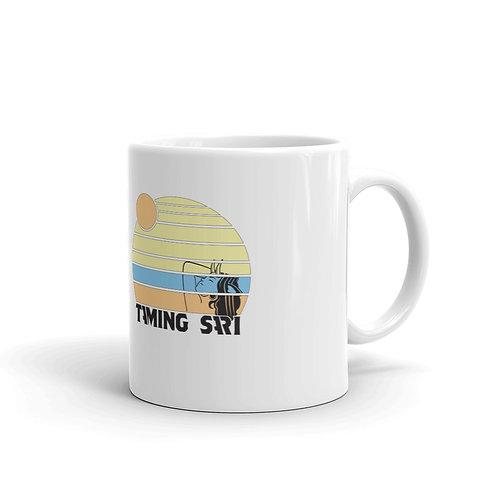 Taming Sari White Glossy Mug
