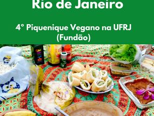 Rio de Janeiro: 4º Piquenique Vegano na UFRJ (Fundão)