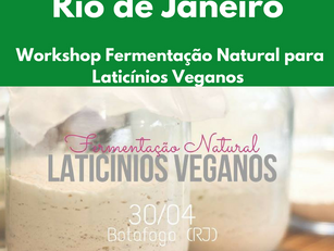 Rio de Janeiro - Workshop Fermentação Natural para Laticínios Veganos