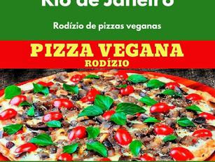 Rodízio de pizzas veganas