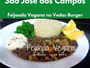 São José dos Campos - Feijoada Vegana no Vedas Burger