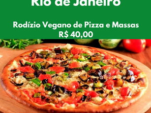 Rio de Janeiro - Rodízio Vegano de Pizza e Massas R$ 40,00
