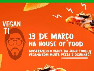 RIO DE JANEIRO  - BOTAFOGO : Coxinha e Pizza Vegan Ti @HOF