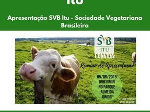 Apresentação SVB Itu - Sociedade Vegetariana Brasileira
