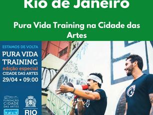 Rio de Janeiro - Pura Vida Training na Cidade das Artes
