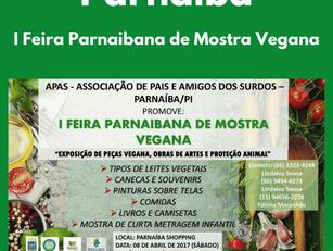 Parnaíba - I Feira Parnaibana de Mostra Vegana