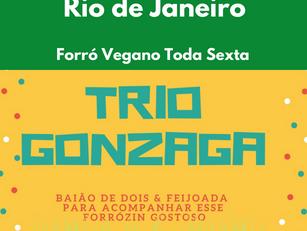 Rio de Janeiro: Forró Vegano Toda Sexta