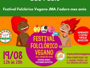 Festival Folclórico Vegano JMA J'adore mes amis