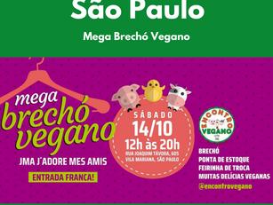 São Paulo: Mega Brechó Vegano JMA J'adore mes amis